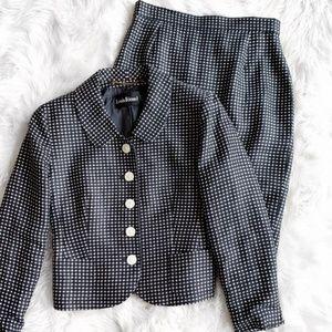 Louis Feraud Skirt Blazer Set J1657